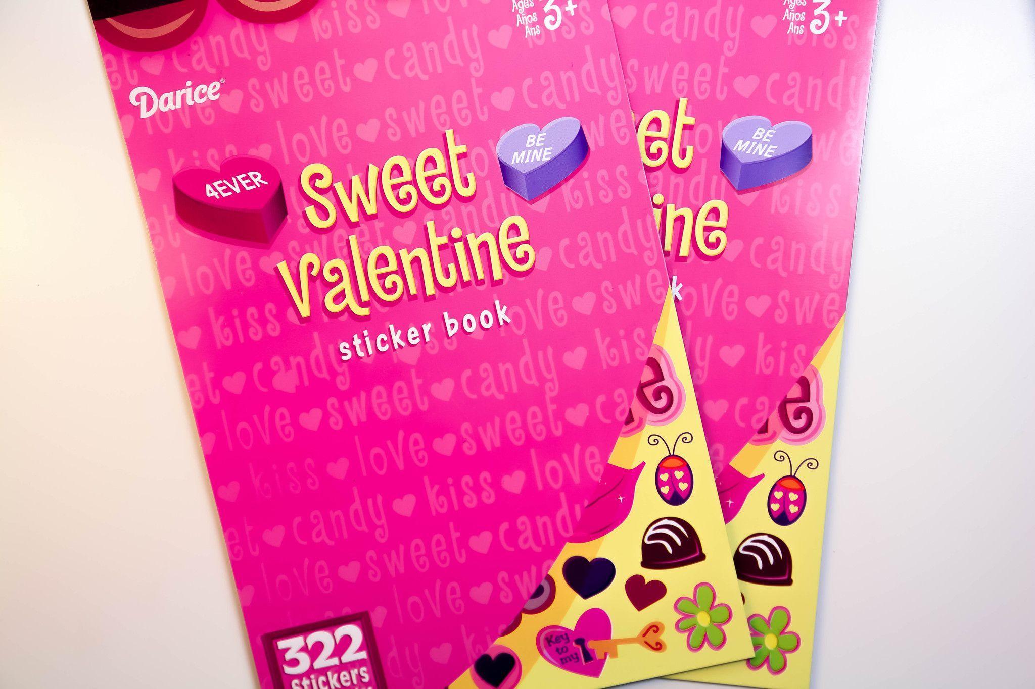 Sweet Valentine Darice Sticker Book - SB69