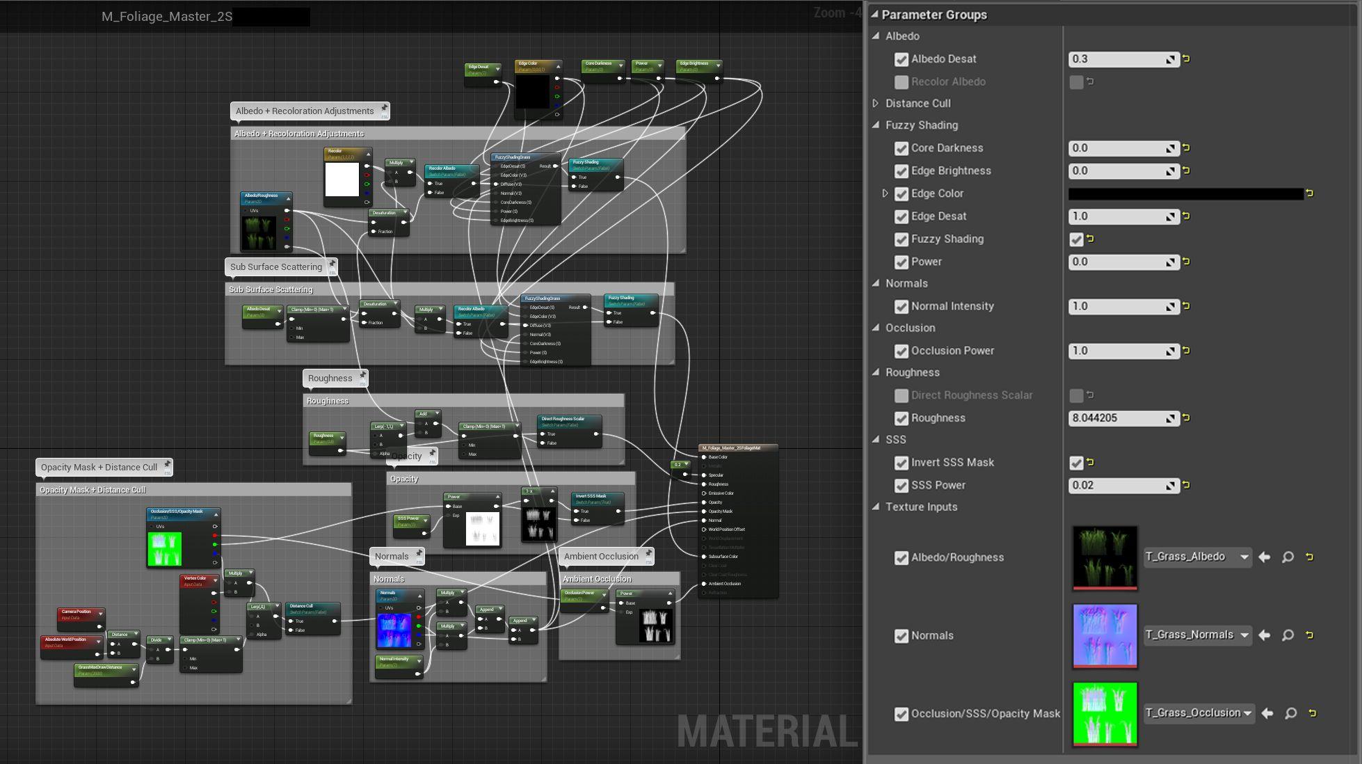 Unreal Engine 4 Foliage Material Poisk V Google Unreal Engine