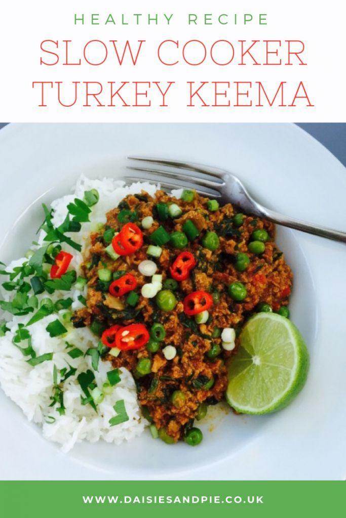 Slow Cooker Turkey Keema | Recipe in 2020 | Healthy turkey ...