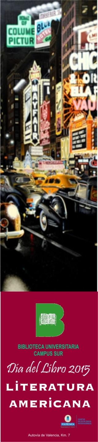 Día del Libro 2015 Literatura americana