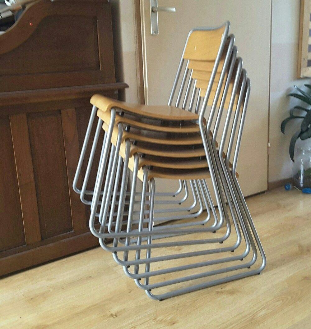 Nu te koop op marktplaats Ikea eetkamer stapelstoelen vintage ...