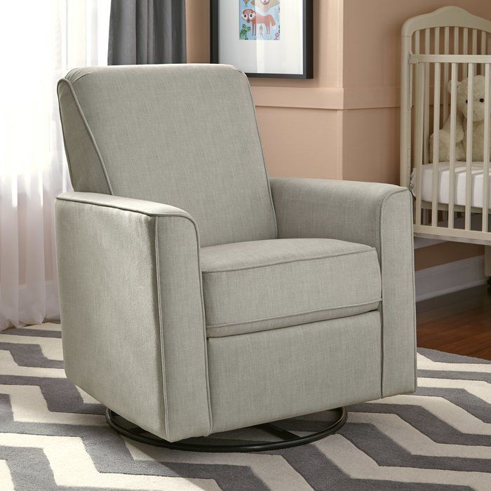 Wood And Metal Frames This Swivel Recliner While A Streamlined Silhouette Gives It Contemporary Look