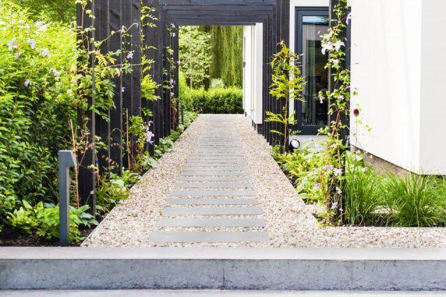 Grind In Tuin : Tuinontwerpen met grind tuin ideeën tuin ontwerp luxury