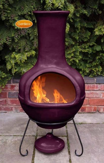 Perfect For Any Larger Garden Or Patio. It Has A Glaze Effect, Aubergine  Finish Which Is Both Understated And Stylish.
