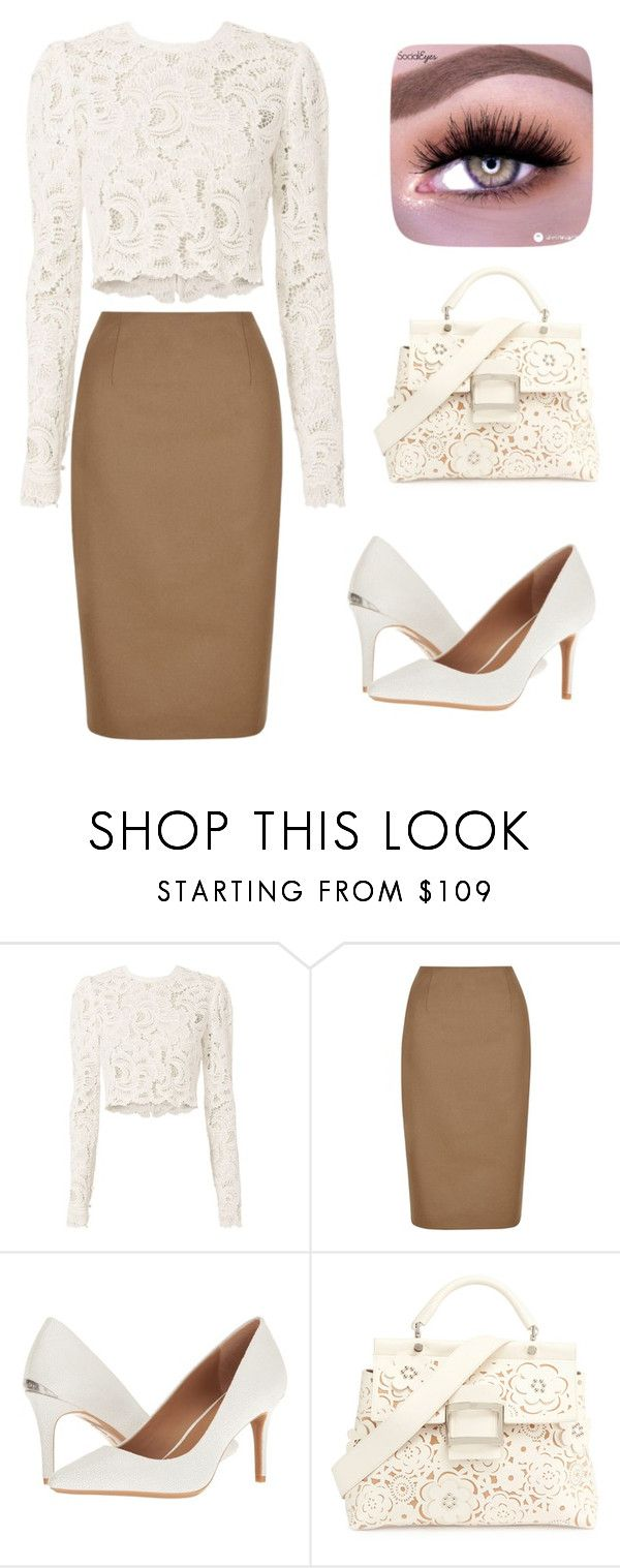 """Classically beautiful"" by camiseta ❤ liked on Polyvore featuring A.L.C., Hobbs, Calvin Klein and Roger Vivier"