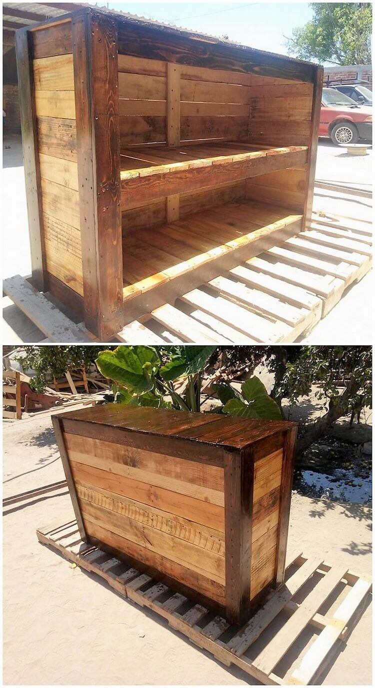 Excellent DIY Ideas with Old Shipping Pallets