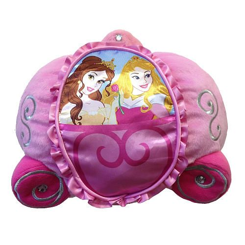 "Disney Princess Away We Go Cuddle Pillow - Franco Mfg - Toys ""R"" Us"