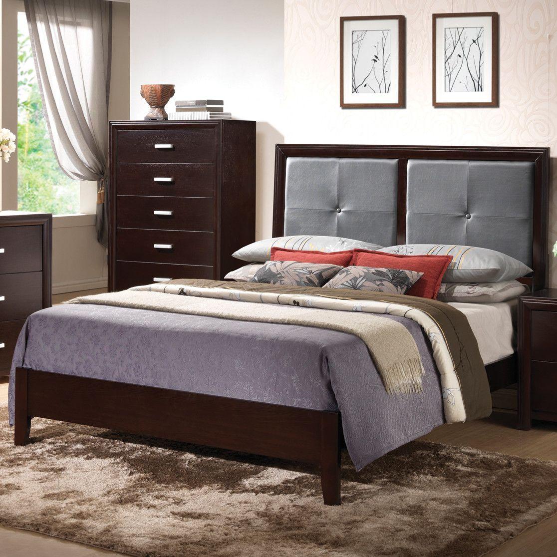 Best Wildon Home ® Norfolk Panel Bed Wayfair Master Bedroom 400 x 300