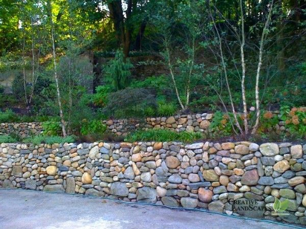 Retaining Wall 3 Landscaping With Rocks Rock Wall Gardens Dry Stone Wall