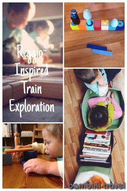 Reggio Inspired Train Exploration | Bambini Travel