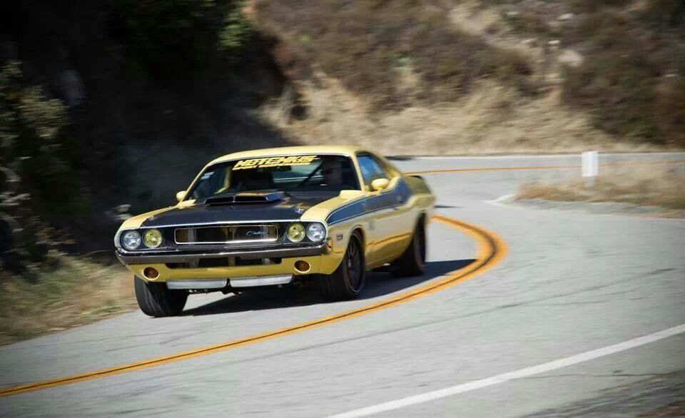 Hotchkiss-equipped Challenger... Fast, even around corners!