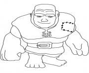 Print Giant Clash Of Clans Coloring Pages Coloring Pages Clash