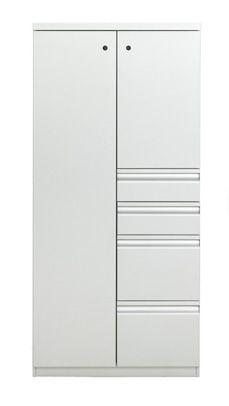 Calibre Wardrobe Tower 64inch High X 30inch Wide Wardrobe Tower Box / Box /  File /