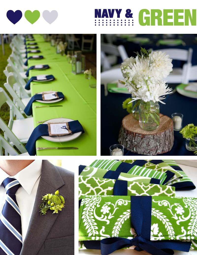 Perfect Wedding Palettes NAVY Adori Designs Custom Wedding