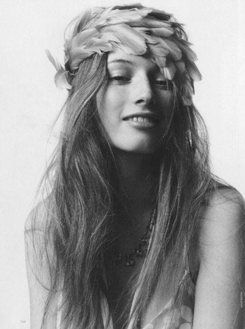 {coiffure de la mariée} Le cheveu hippiehipster Cheveux
