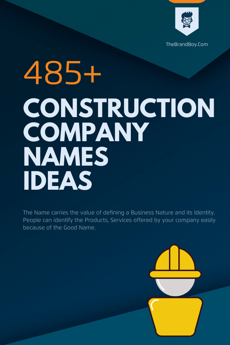 Unique Construction Company Names Ideas