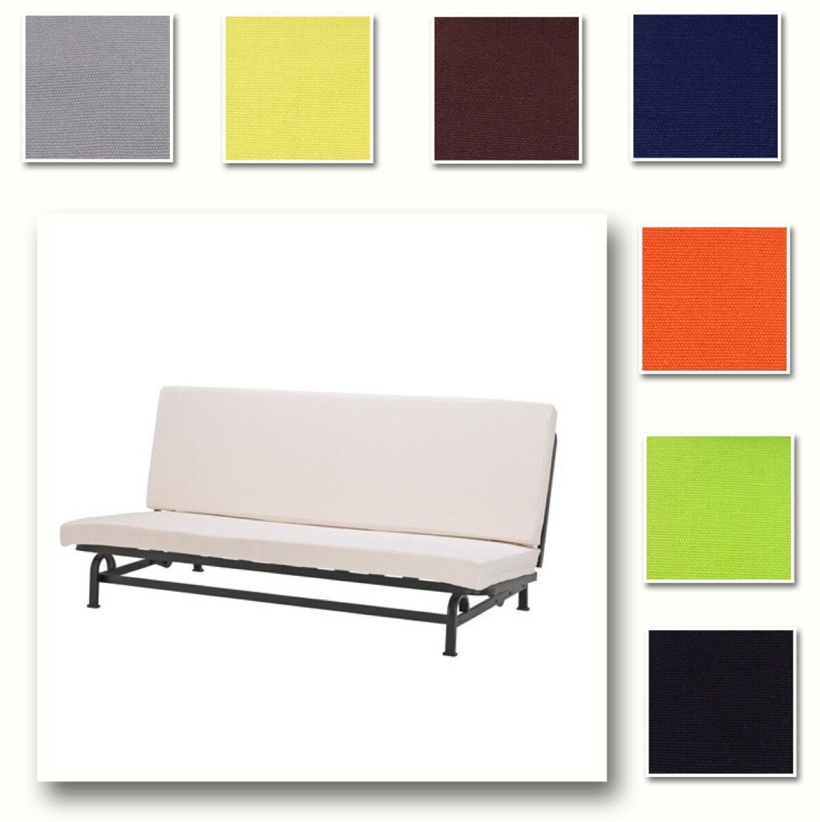 Divano Letto Ikea Exarby.Custom Made Cover Fits Ikea Exarby Sofa Bed Hidabed Replace Cover