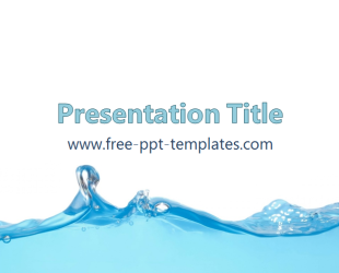 Plantilla ppt de agua plantillas de powerpoint gratuitas water powerpoint template is a blue template with appropriate background image which you can use to make an elegant and professional ppt presentation toneelgroepblik Images
