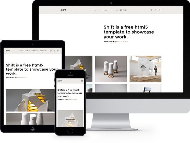 free html5 website template by freehtml5 co