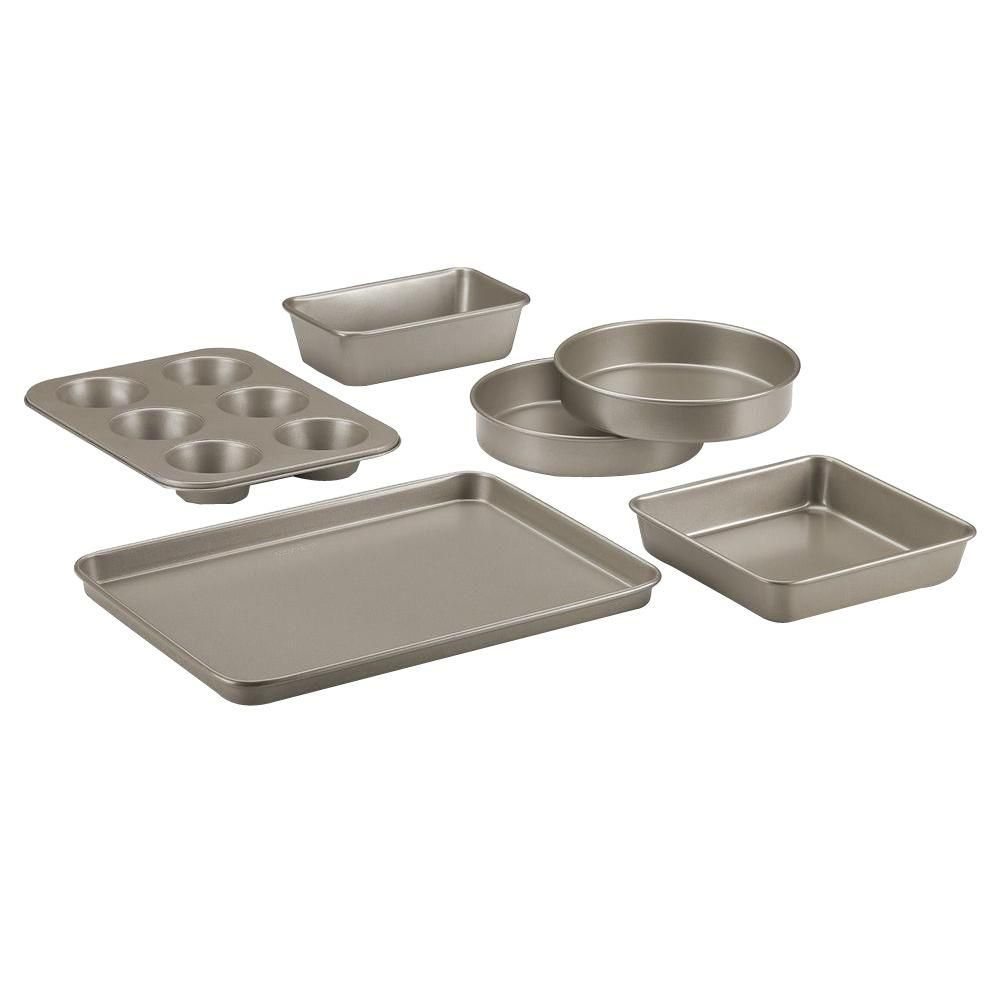 Cuisinart Chef S Classic 6 Piece Champagne Bakeware Set Amb 6ch