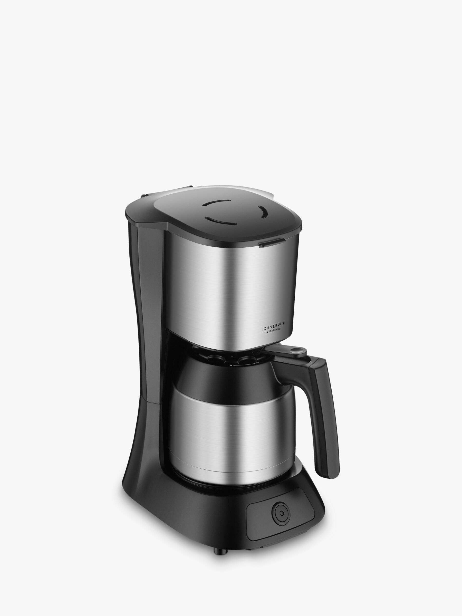 John Lewis Partners Filter Coffee Machine Stainless Steel