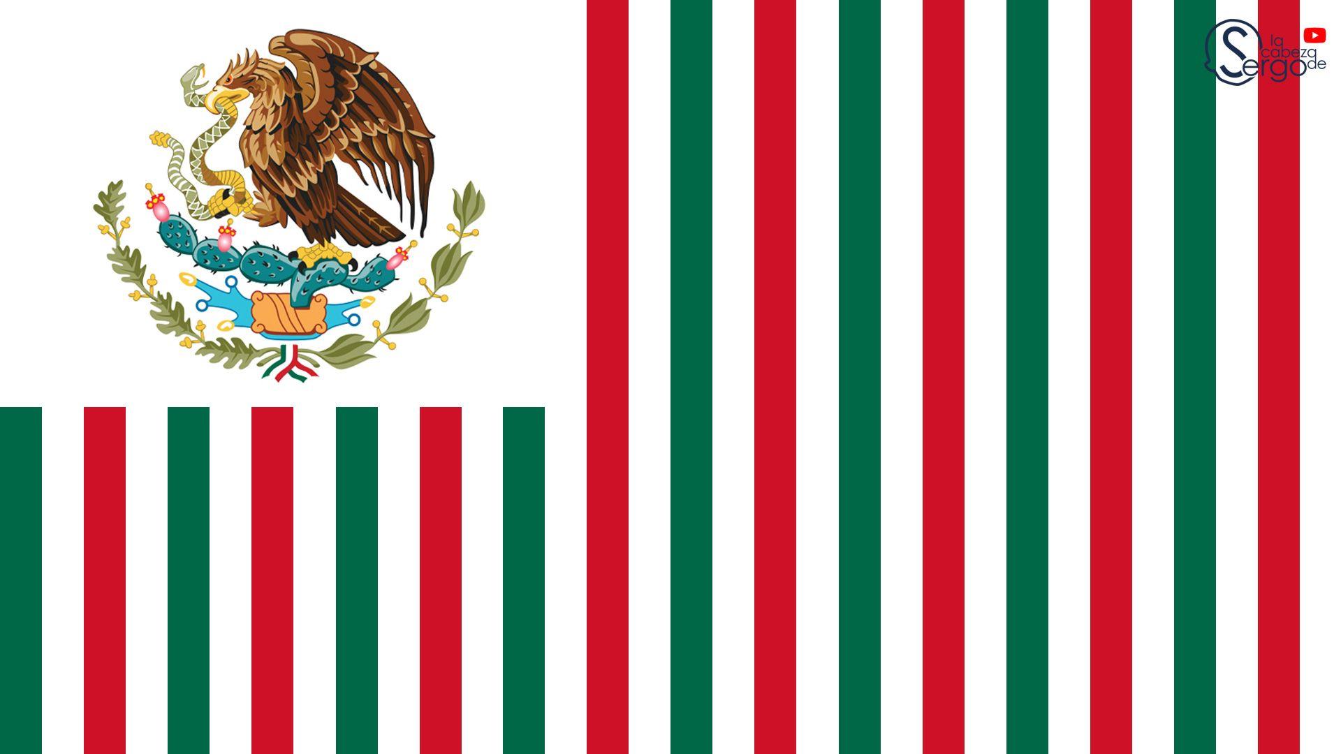 Bandera De Mexico Estados Unidos Mexico Bandera Banderas Bandera