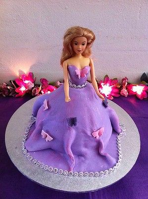 A Barbie Princess Cake For My Daughters Rd Birthday Birthday - Birthday cake doll princess