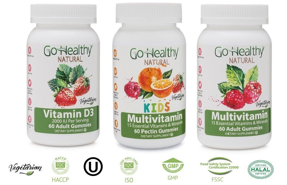 Try a Free Sample of Our AllNatural Vitamin Gummies