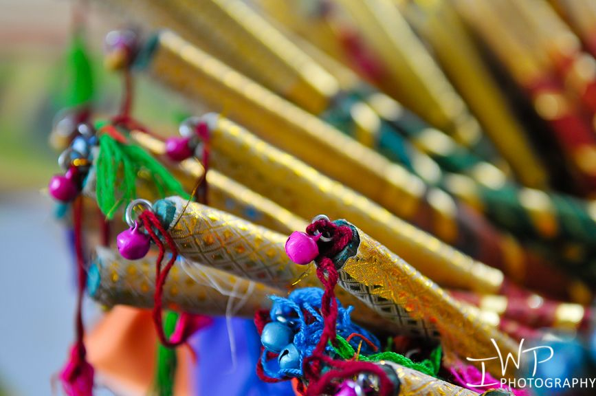 Raas Sticks For Garba Night Favors Indian Wedding Party Themes