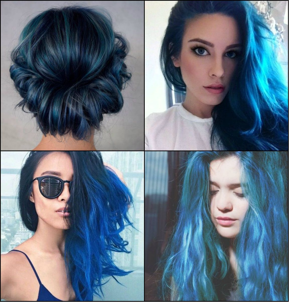 Hairstyles Sea and Sky Blue Hair Color 2017 You Will Adore,Forget ...