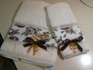 toalhas para lavabo em patchwork - Pesquisa Google