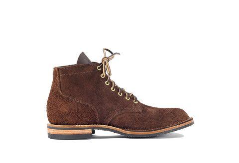 880206b6a60 Viberg Service Boot Mocha Oil Tan Roughout   Shoes   Viberg boots ...
