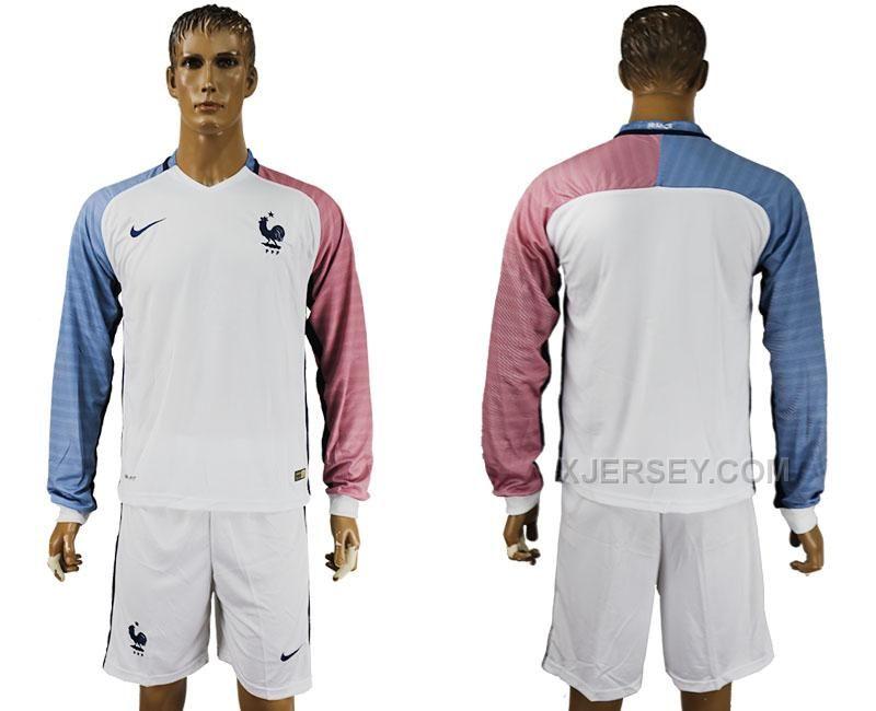 france 8 benarfa home long sleeves soccer country jersey httpxjerseyfrance away euro 2016 long sleeve