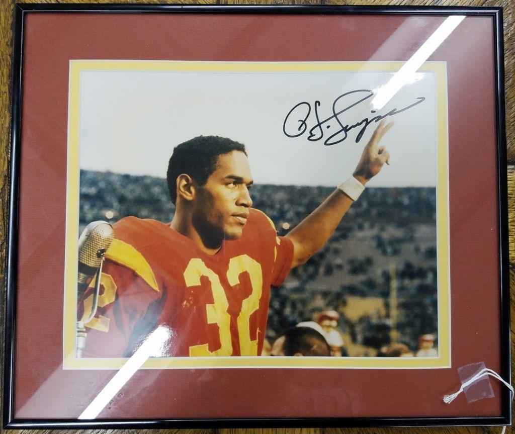 the best attitude 81331 6717d 1968 Heisman OJ Simpson Autograph USC | Sports Collectibles ...