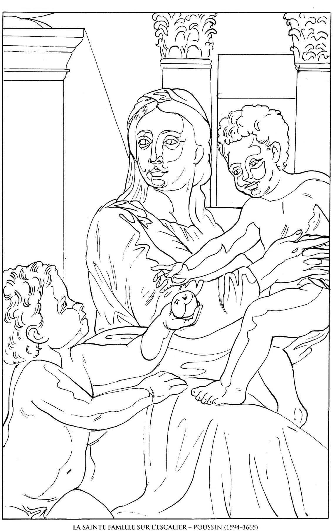 Coloring Pages Coloring Pages Of Famous Paintings famous paintings coloring pages eassume com eassume