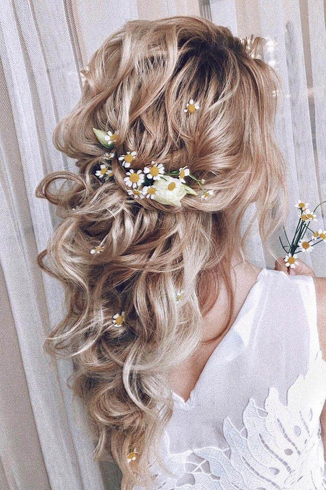 Wedding Hairstyles 2020 2021 Fantastic Hair Ideas Hair Styles Wedding Hairstyles Half Up Half Down Curly Half Up Half Down