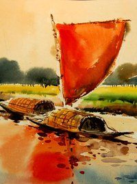 Watercolour Bangladesh Bengali Art Culture Art Watercolor Art