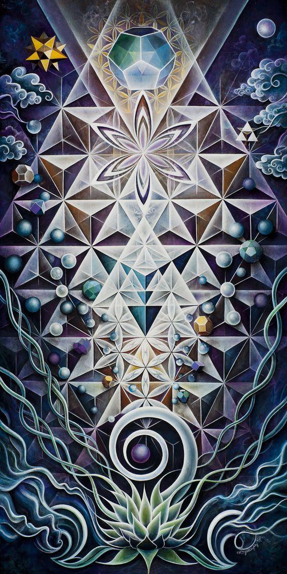 Sacred Mirror Sacred geometry art, Geometry art