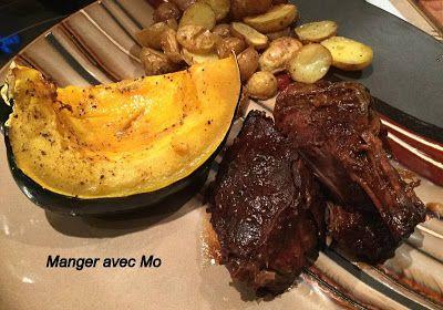 Manger avec Mo: Rôti de palette moutarde et érable #recettenovembre