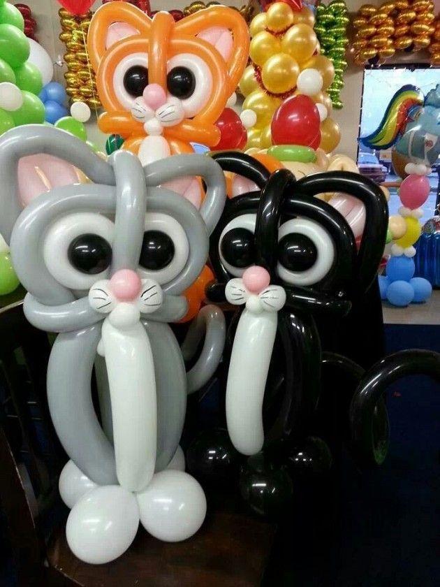 12 increíbles decoraciones con globos que te sorprenderán Globo - imagenes de decoracion con globos