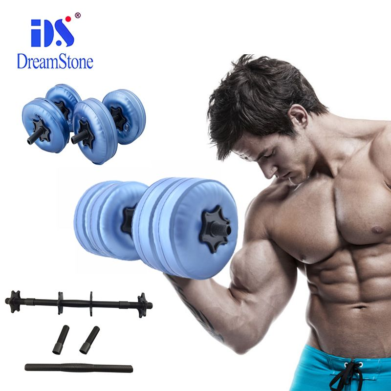 The New Style 1 25kg Weight Adjustable Water Dumbbell Bodybuilding Workout Exercise Dumbbell For Man No Equipment Workout Travel Workout Bodybuilding Workouts