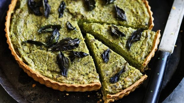 The week is sorted with this rich, savoury and comforting tart.
