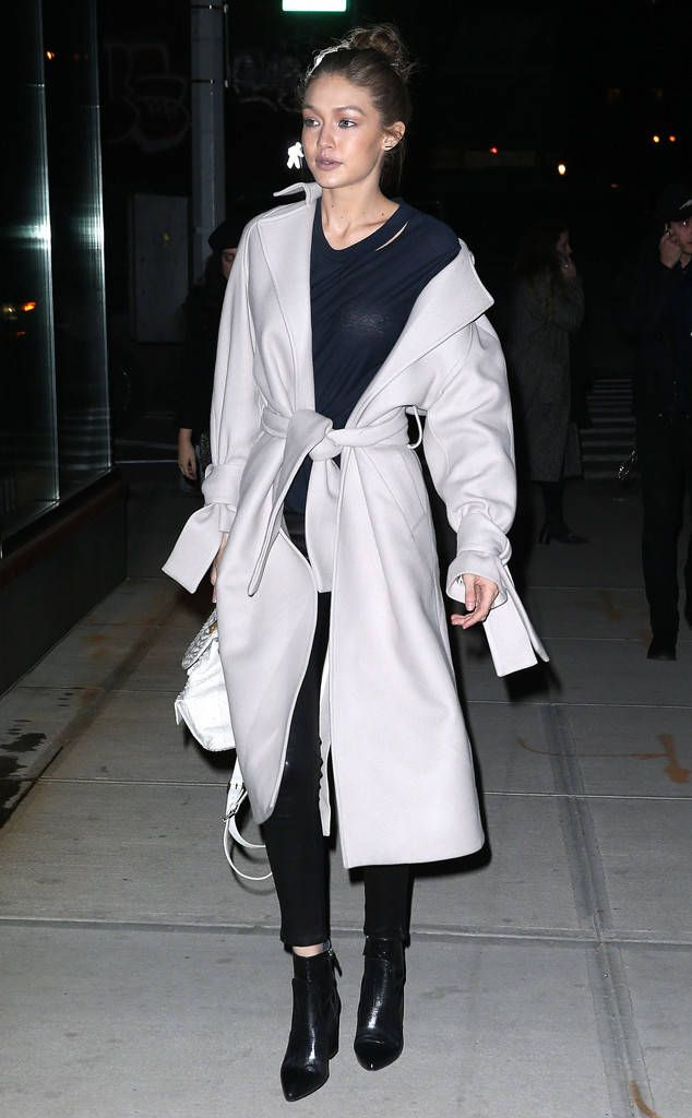 Gigi Hadid from The Big Picture: Today's Hot Photos  The model is seen out in New York City between shows duringNew York Fashion Week.