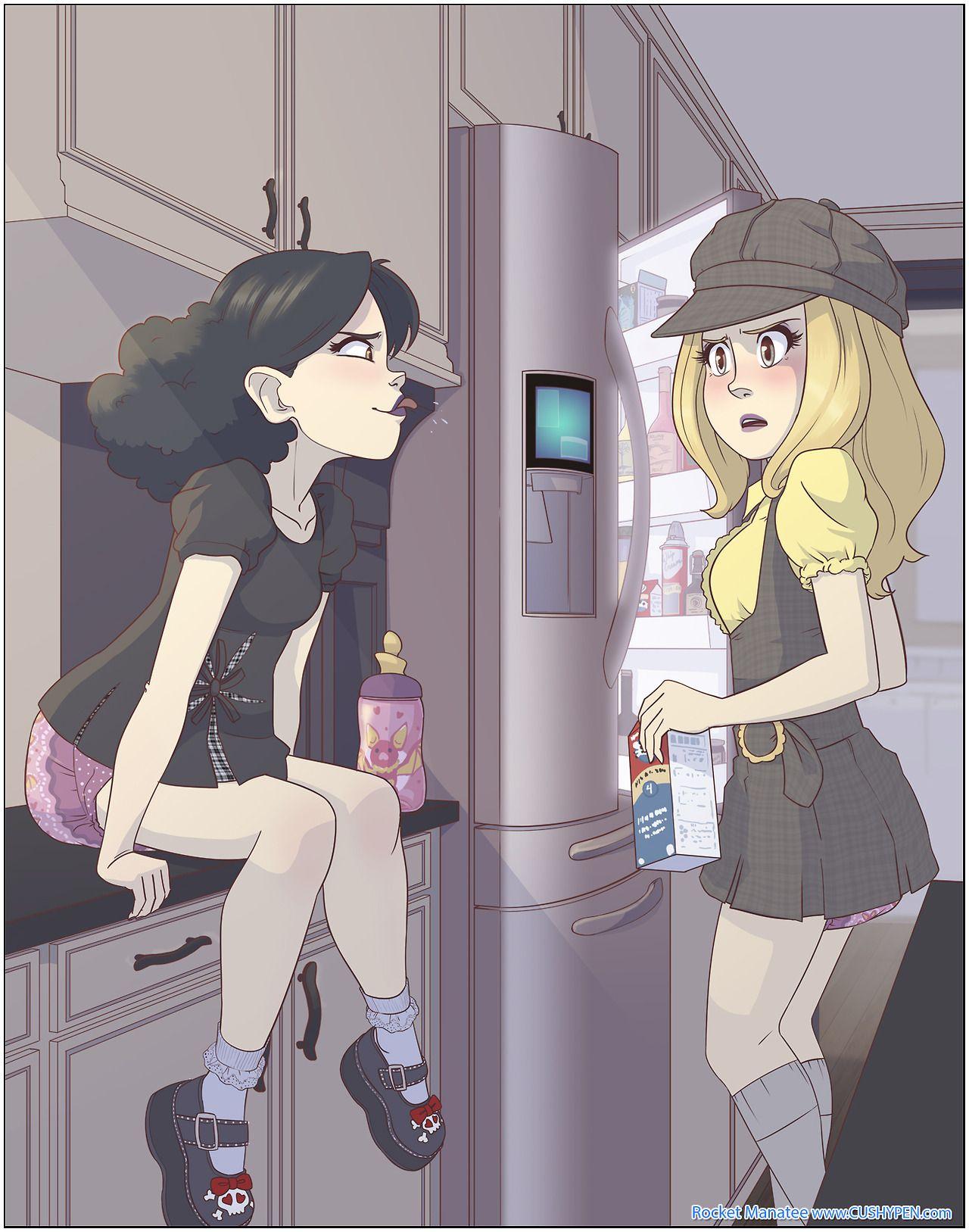 Diapered Girls Anime Manga Art Anime Baby Anime Diaper Girl