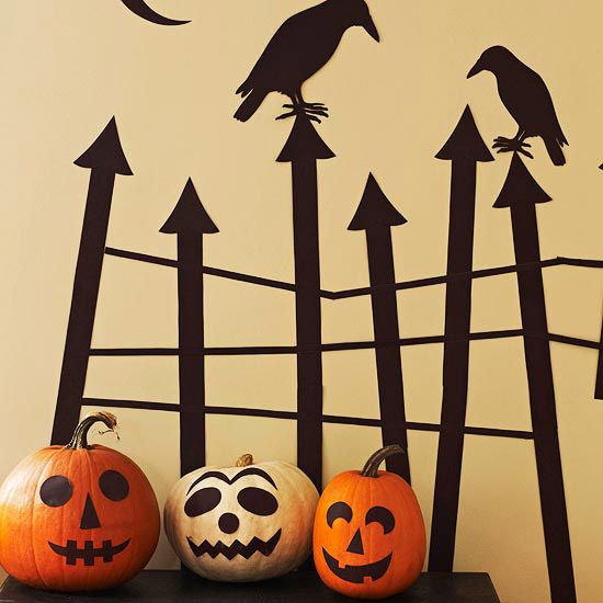 7 Halloween Decorations You Can Make For Under $10 Homemade - cool halloween decorations you can make