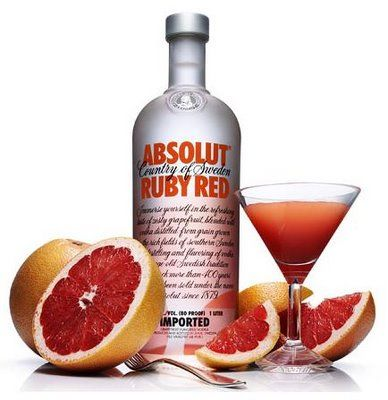 Absolut Ruby Red Yummy Alcoholic Drinks Vodka Absolut