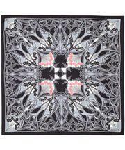 Black Ianthe Print Silk Neckerchief, Liberty London