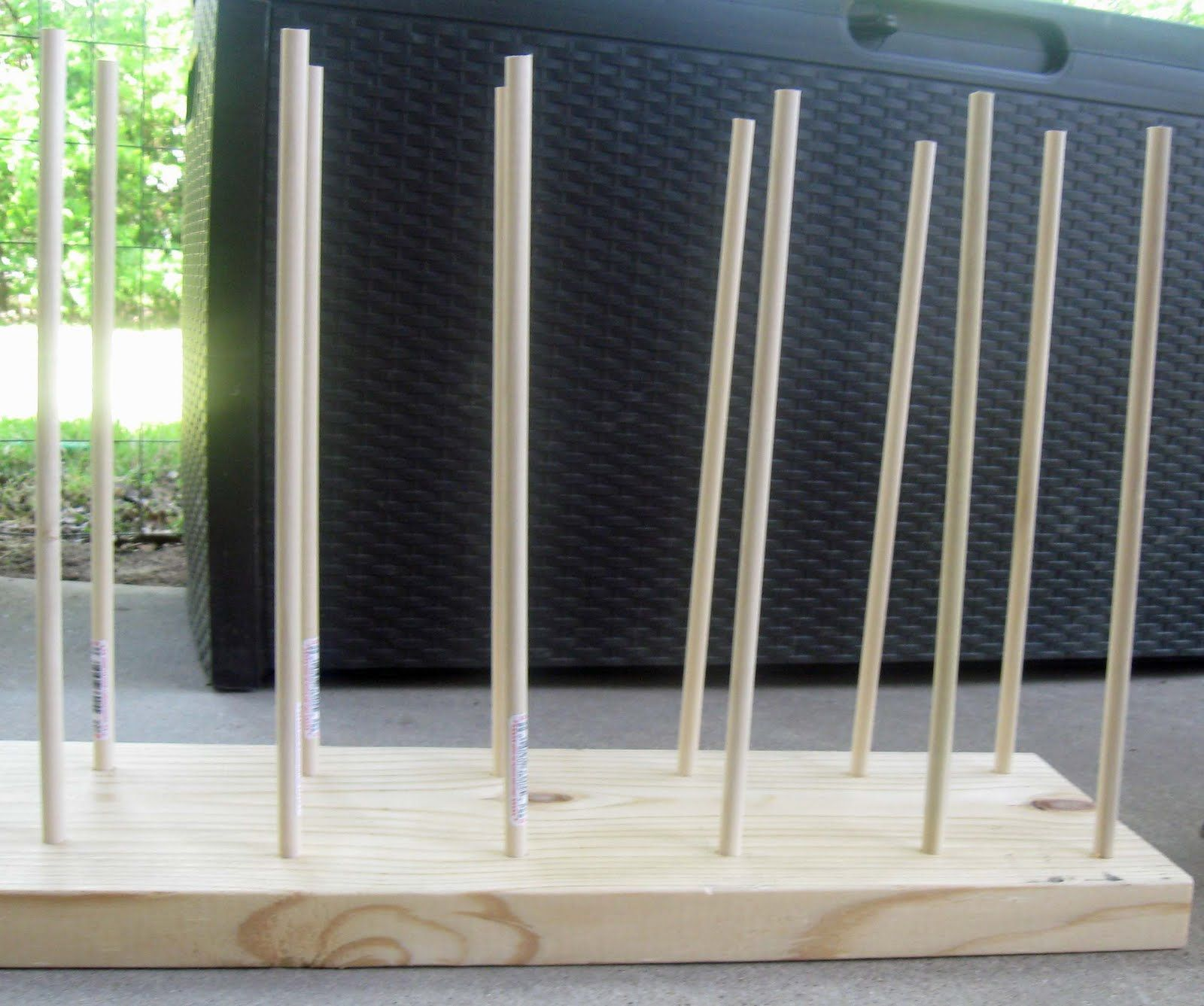 Pigtails paper trails ribbon storage idea and tutorial storage