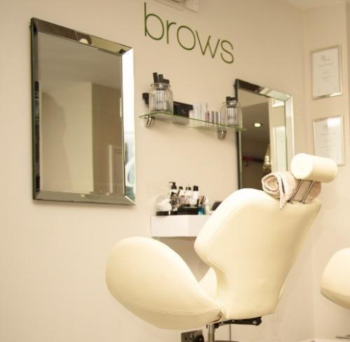 This Is Too Cute For The Brow Bar Beauty Salon Decor Salon Decor Spa Decor