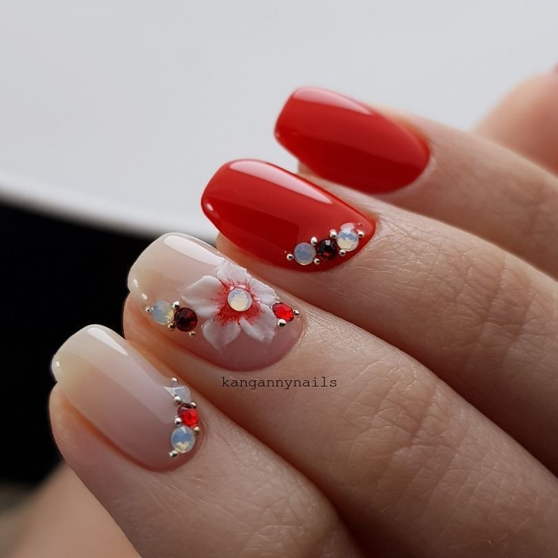 Nail Art #3962 - Best Nail Art Designs Gallery | Pinterest | Red ...